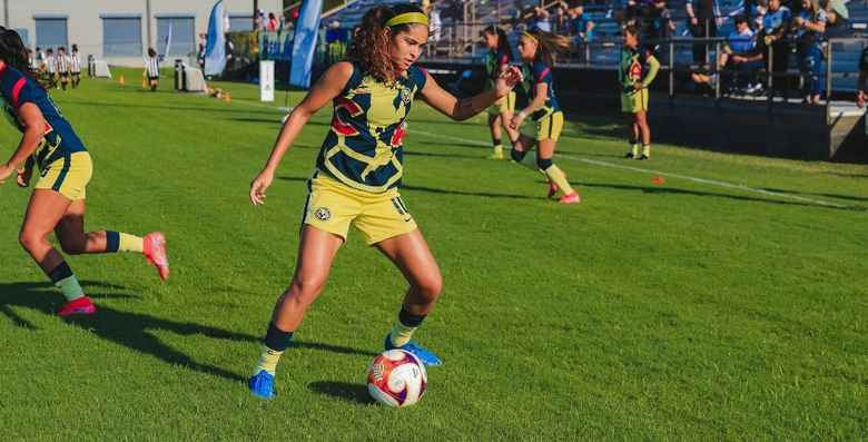 América Femenil beat SA Athenians 2-0 on their tour of the United States …